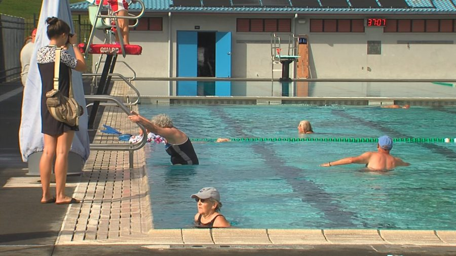 VIDEO: Pahoa Aquatic Center Opens After Eruption Repairs