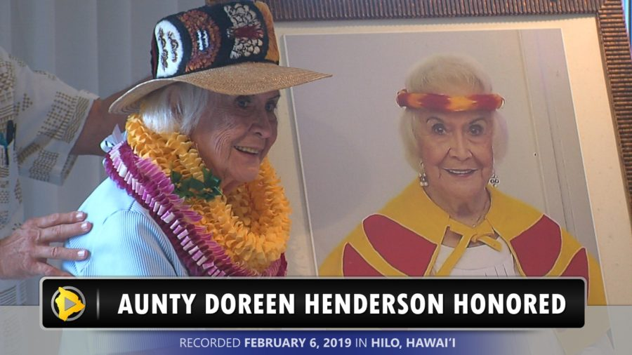 VIDEO: Kumu Lei Hulu Doreen Henderson Honored