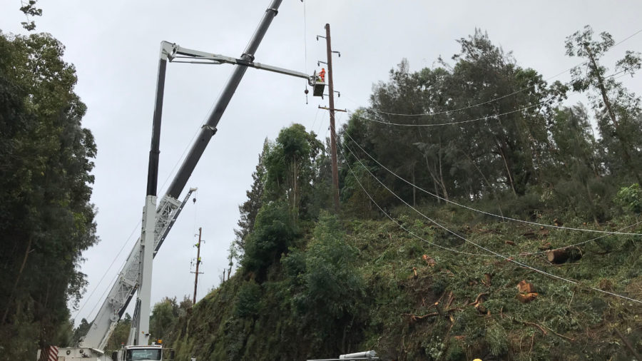 Power Service Restored Following Passing Winter Storm