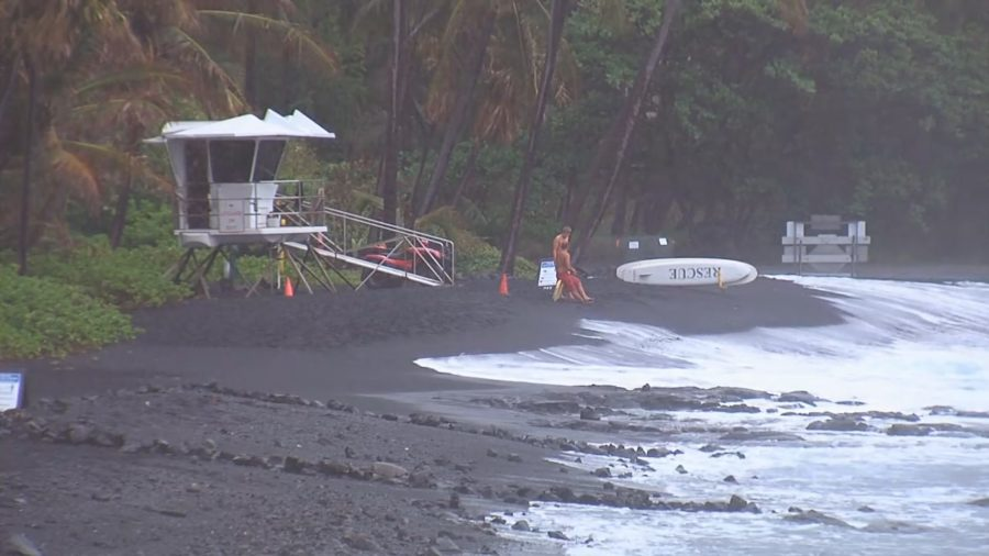 Pohoiki, Punaluu Beaches Closed Due To High Surf