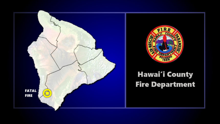 Fatal Structure Fire Reported In Hawaiian Ocean View Estates