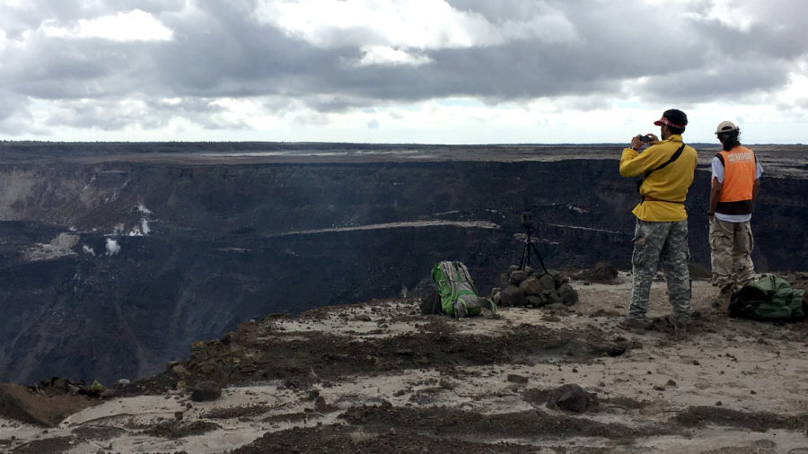 VOLCANO WATCH: Scientists Study CO2 To Learn Kilauea Magma Depth