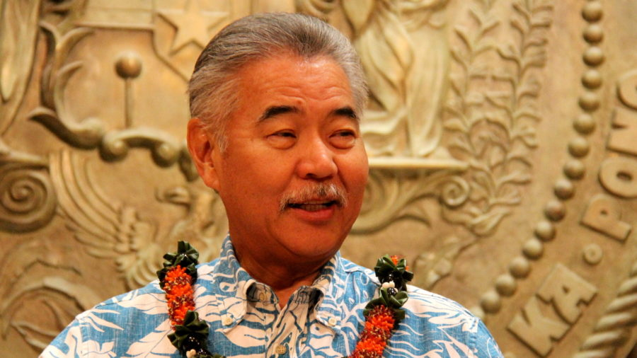 White House Picks Hawaii Governor Ige For Council