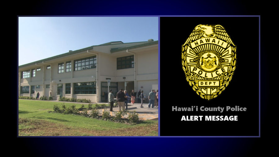 Terroristic Threat Prompts Police Alert For Waimea Schools