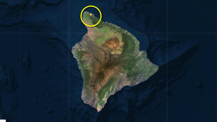 Magnitude 3.5 Earthquake Felt In North Kohala
