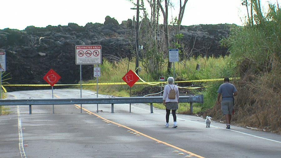 Puna CDP Letter Supports Reopening Roads Inundated By Lava
