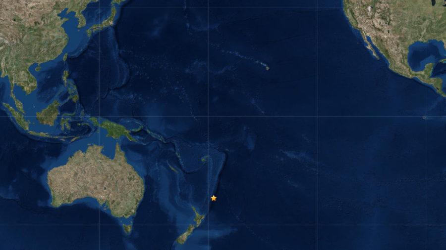 Magnitude 6.6 Earthquake In South Pacific, No Tsunami For Hawaii