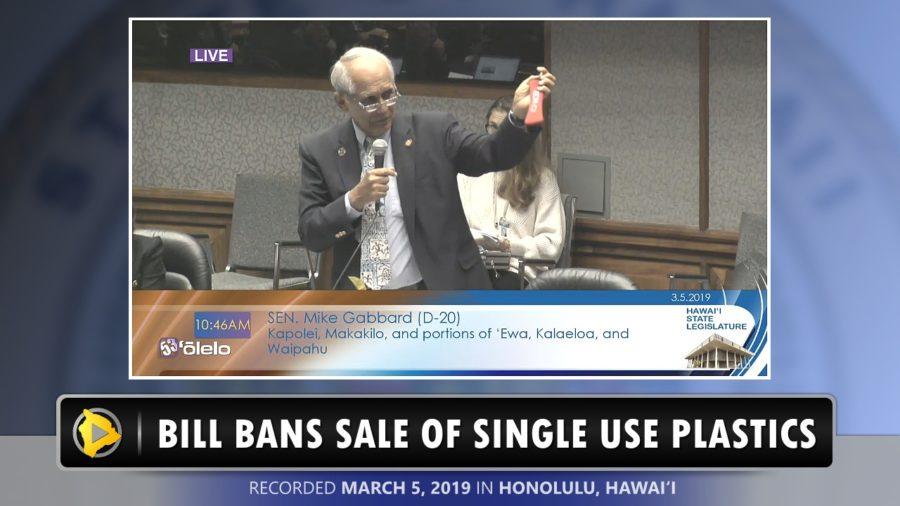 VIDEO: Senate Passes Bill To Ban Certain Single-Use Plastics