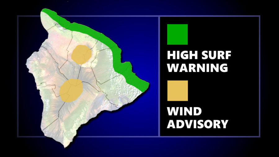 Warning Issued: 50 Foot High Surf Possible For North-Facing Shores