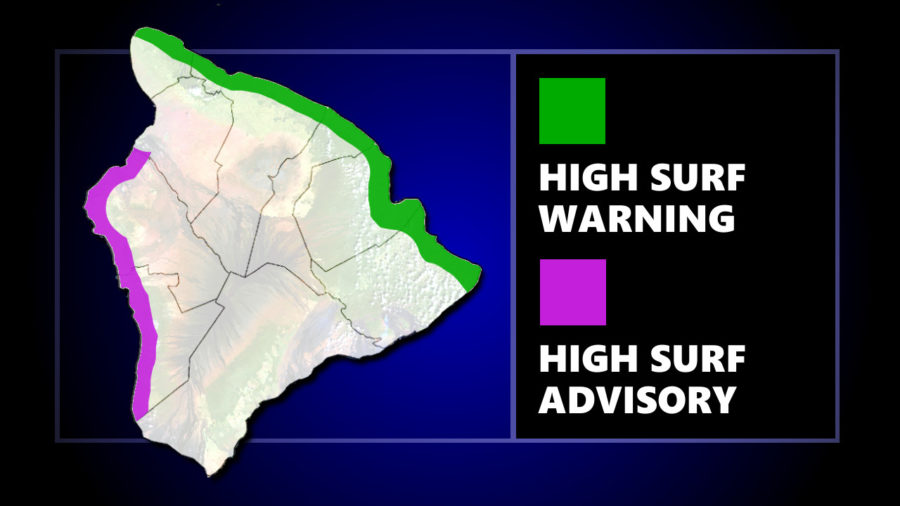 High Surf Warning Remains In Effect For Hawaii