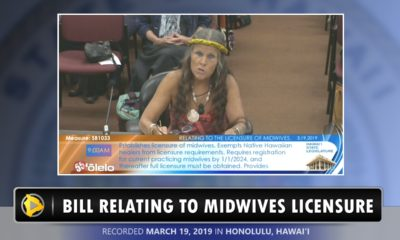 VIDEO: Hawaii Island Midwife Testifies Against Licensure Bill