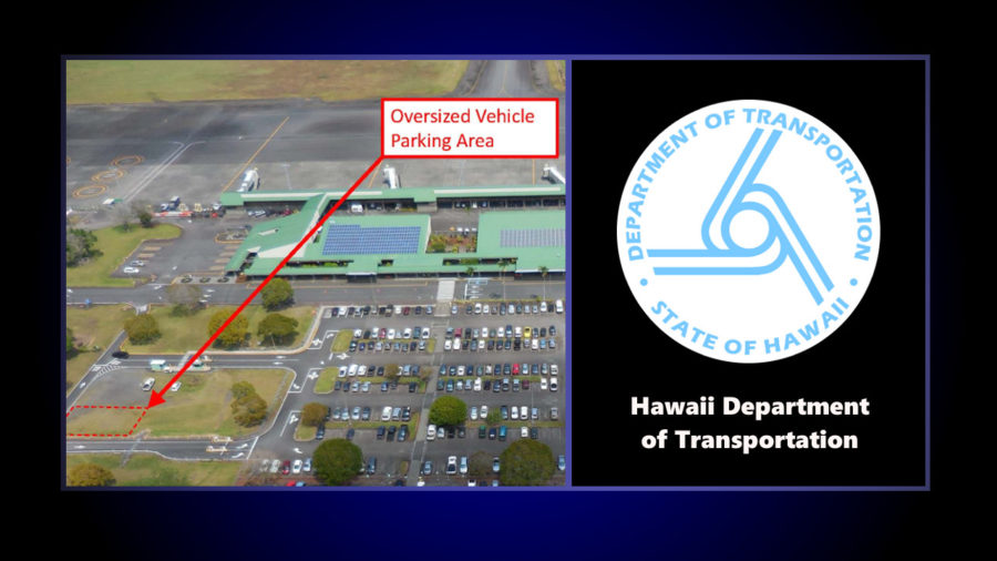 Vehicle Heights To Be Limited At Hilo Airport Parking Lot