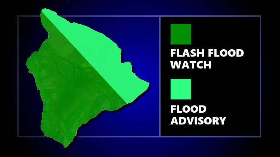 Flash Flood Advisory, Parts Of Hilo Without Power