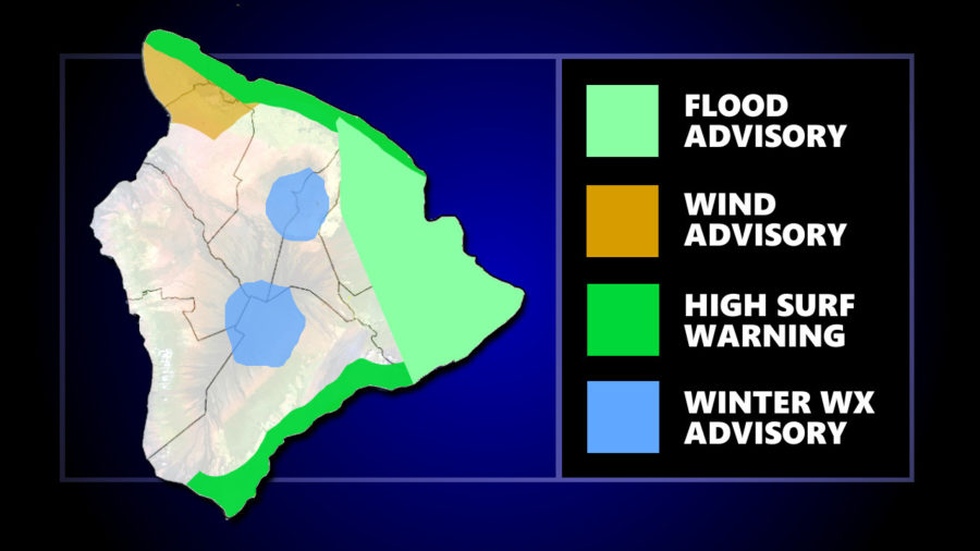 Flood Watch Over But Rough Weather Continues Into Friday Night