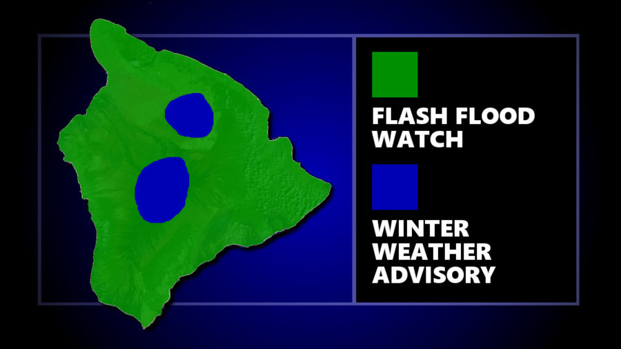 Flash Flood Watch, Winter Weather Advisory Continue