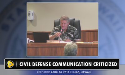 VIDEO: Council Criticizes Civil Defense Communication