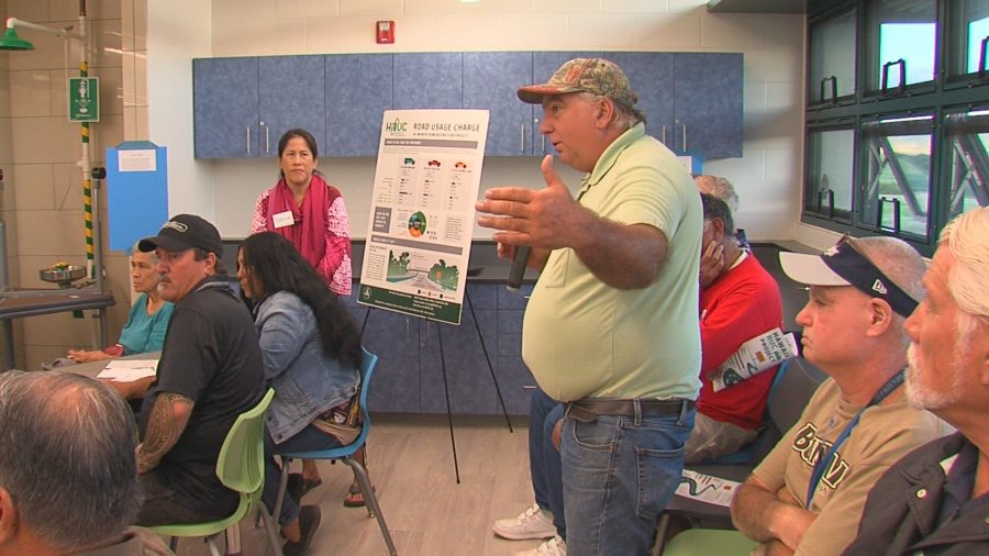 VIDEO: Waimea Hears Pay As You Drive Study Plan