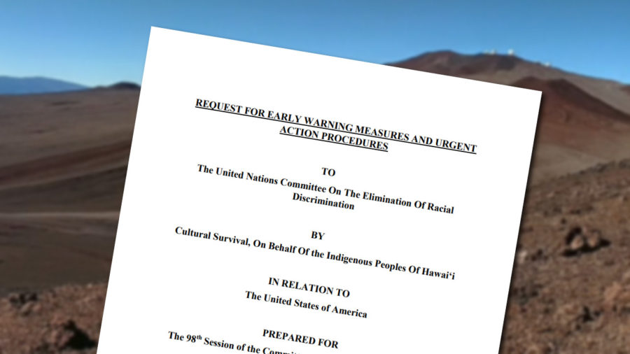 Mauna Kea Conflict Brought To United Nations Racial Discrimination Committee