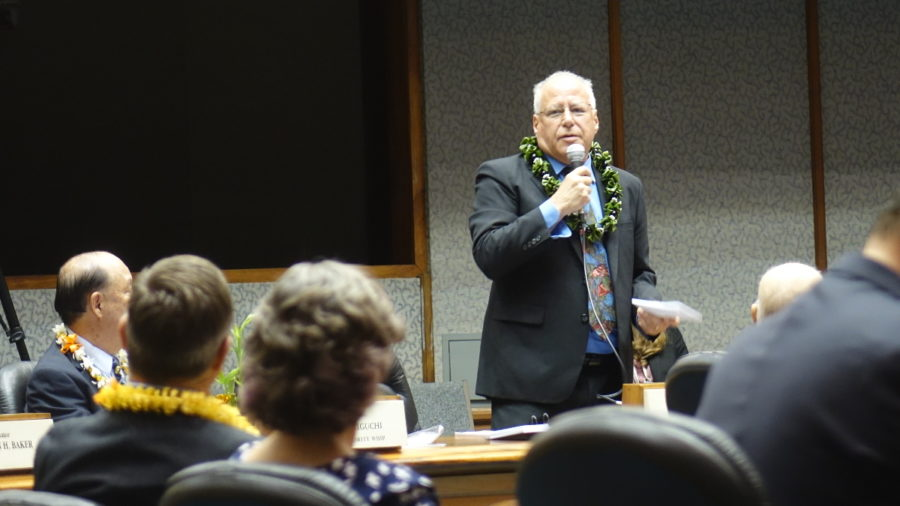 VIDEO: Puna Senator Supports DBEDT Nominee In Divisive Vote