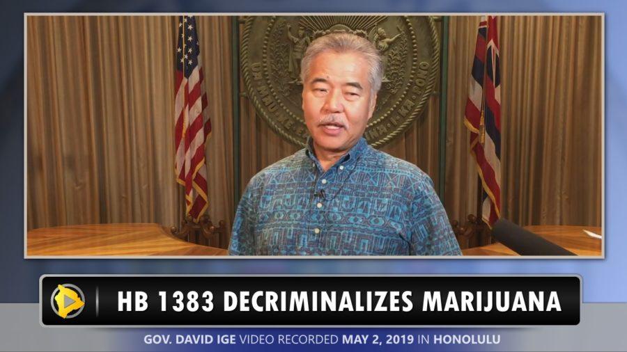VIDEO: Bill Passes Decriminalizing Marijuana In Hawaii