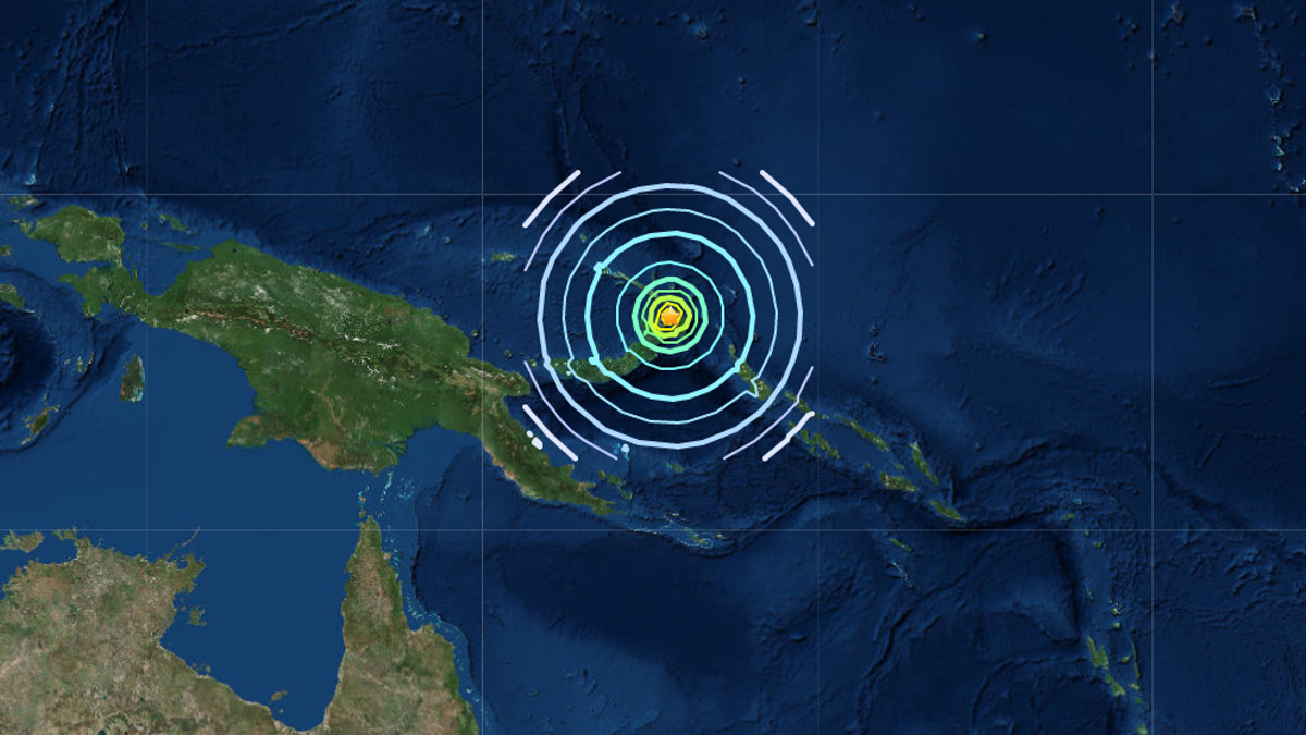 7.5 Earthquake Near Papua New Guinea, No Tsunami For Hawaii