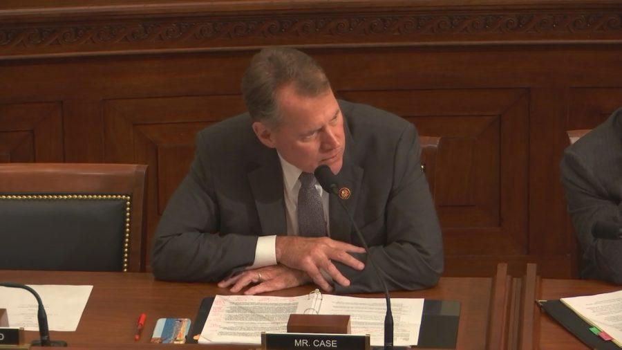 "VIDEO: Federal Compact Aid ""Insufficient"", Rep. Case Tells DOI Secretary"
