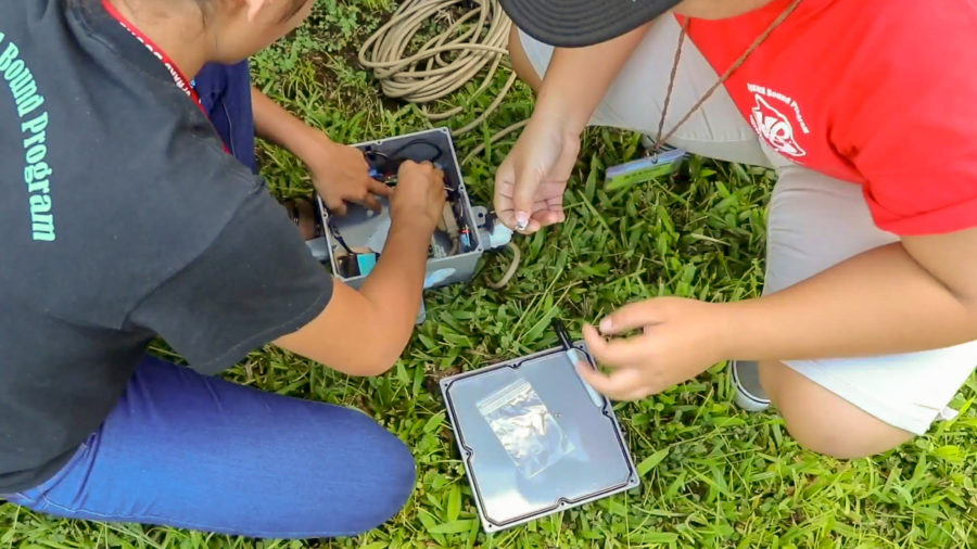 VOLCANO WATCH: Students Use Science For Community Benefit
