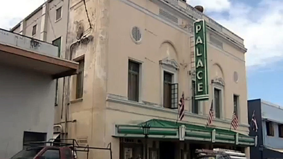 VIDEO: Palace Theater restoration in Hilo