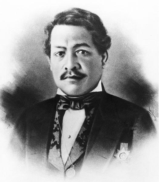 Royal Portrait Photograph of Kamehameha III