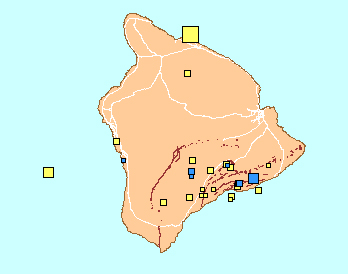 Busy weekend for earthquakes on Big Island of Hawaii