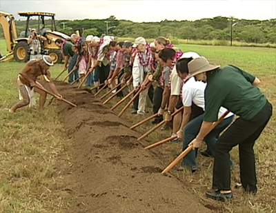 VIDEO: Big Island Biodiesel breaks ground