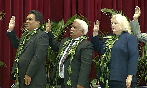 VIDEO: Out with old, in with new Hawaii County Council