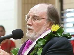 Abercrombie speaks in Waimea