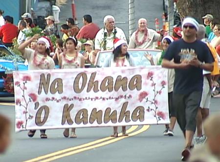 VIDEO: Kanuha Ohana lead Kona Christmas Parade