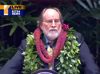 VIDEO: Hawaii State of the State – Abercrombie speech breakdown