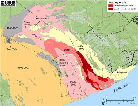 "VIDEO: Kalapana ""Lavatic"" home in danger as lava advances"