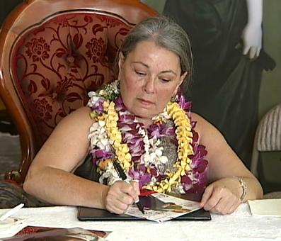 Roseanne Barr new reality TV show: life on Hawaii mac nut farm