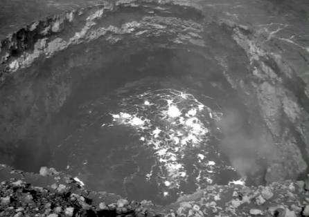 VIDEO: Explosive volcano rim collapse filmed by USGS