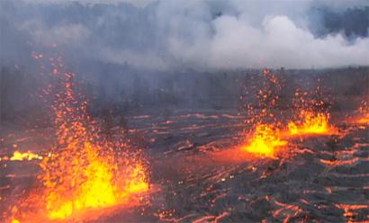 VIDEO: The man behind global Hawaiian volcano eruption video