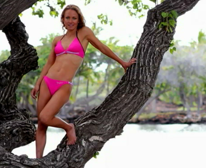 VIDEO: Sexy swimsuit shoot part of Mauna Lani triathlete focus