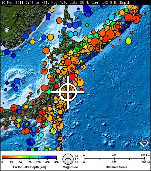 Hawaii under Tsunami Watch after 8.8 earthquake in Japan