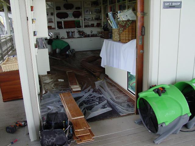 VIDEO: Kona Hulihee Palace recovers from tsunami surge