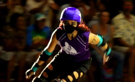 VIDEO: Paradise Roller Girls derby bout packs Hilo Civic
