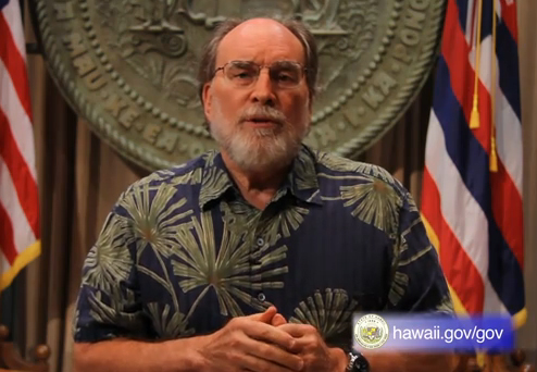 VIDEO: Budget message from Hawaii Governor Neil Abercrombie