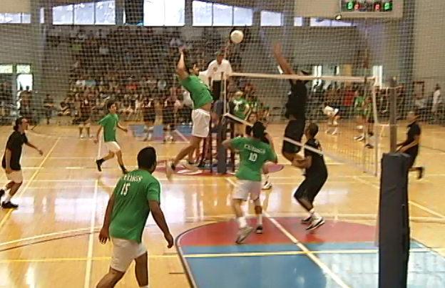 VIDEO: Cudags spike RZN at Haili Volleyball Tournament in Hilo