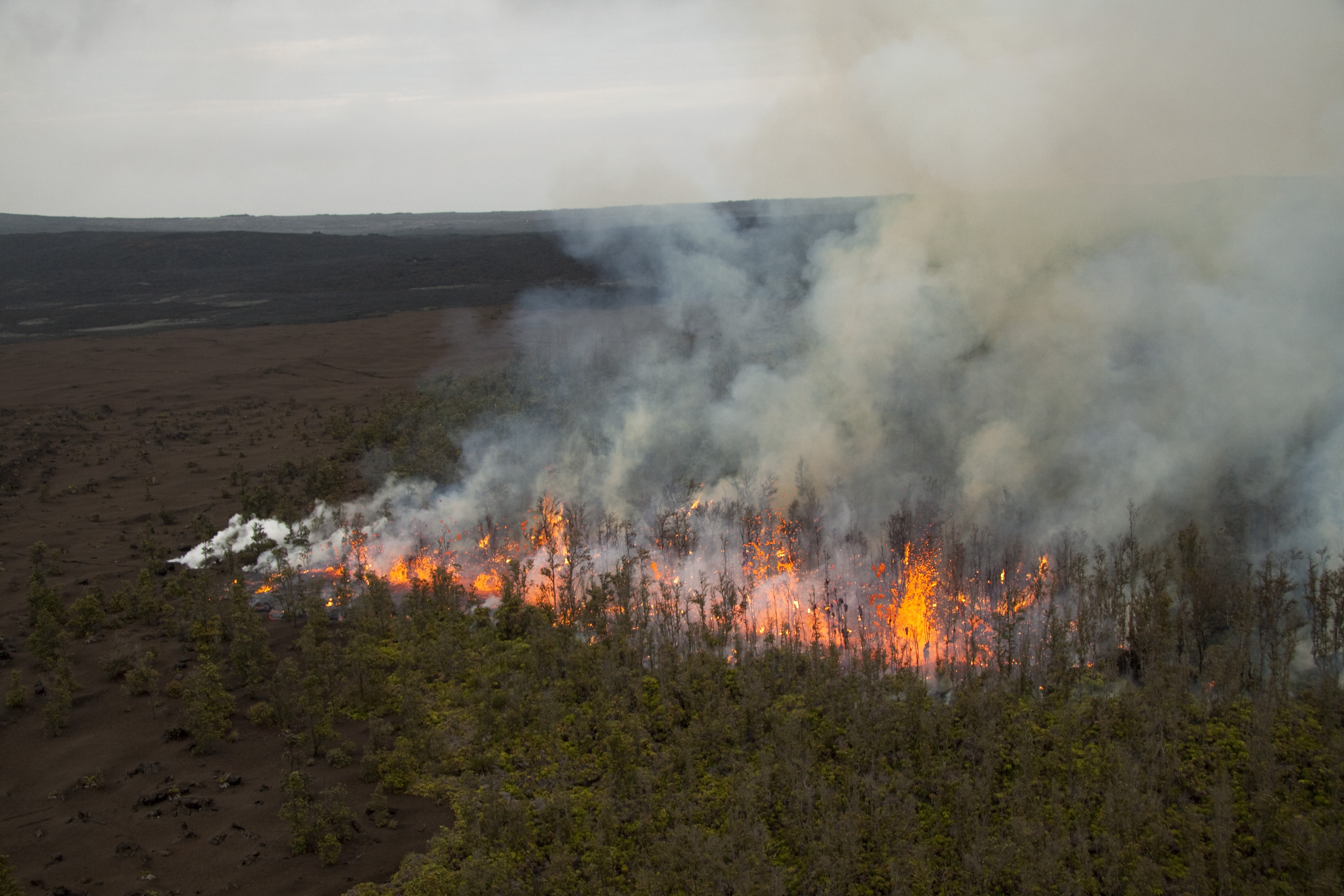 VIDEO: First look at new volcano fissure erupting in Hawaii