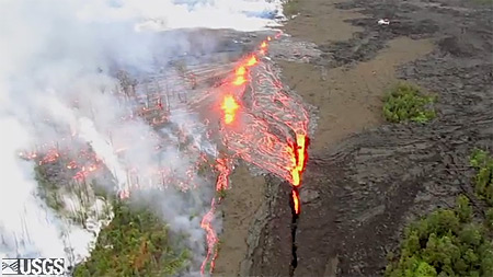VIDEO: Timeline of new Hawaii volcano fissure, eruption change