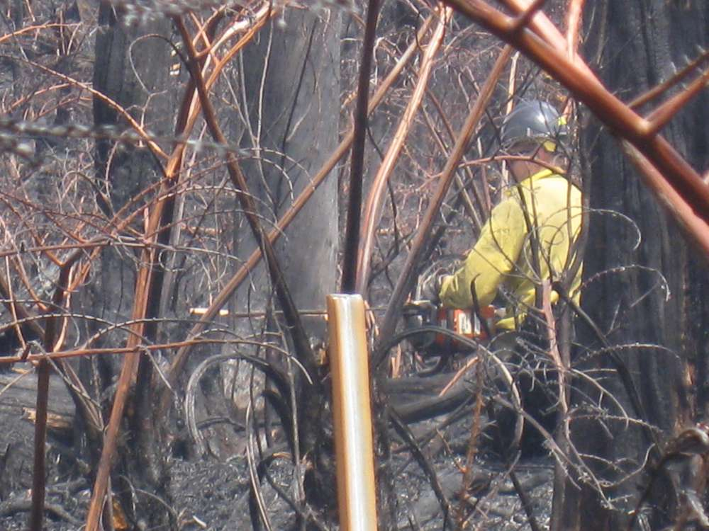 Napau brush fire update, Tuesday March 22nd