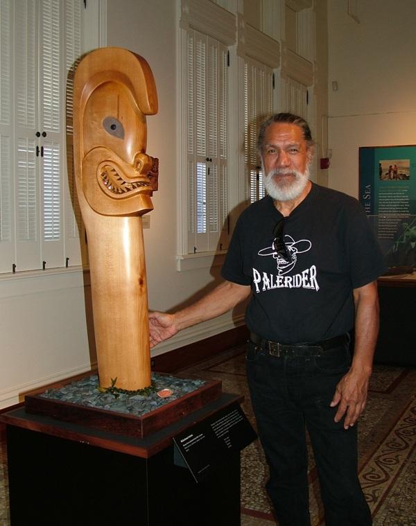 Rocky Ka'iouliokahihikolu 'Ehu Jensen to discuss Hawaii Maoli arts