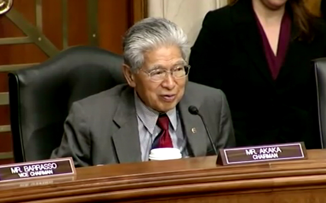 Senator Akaka will not seek re-election, will finish term